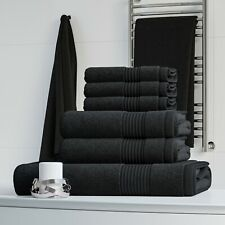 LUXURY 100% EGYPTIAN COTTON 6 PC TOWEL BALE SET BATHROOM TOWELS HAND BATH TOWEL