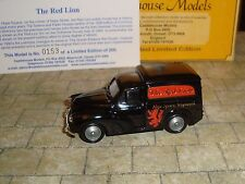 LLEDO - 1960 MORRIS MINOR VAN - RED LION HOPE SQUARE  WEYMOUTH -RARE LTD EDITION