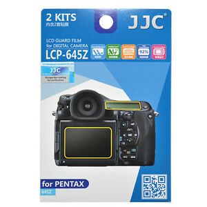 JJC LCP-645Z LCD Guard Film Camera Screen Display Protector for PENTAX 645Z
