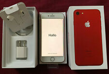 "APPLEⓉiPhone 7 (PRODUCT)RED -128GB- (Factory Unlocked) 4.7"" 12MP Smartphone NIB"