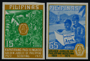 Philippines 1221a-2a MNH Boy Scouts