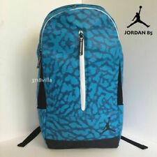 Nike Air Jordan Jumpman Blue Black Elephant Print Backpack Laptop School Bag