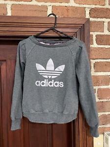 Adidas Womens Jumper Size 8 Logo