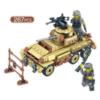 267pcs Militär Truck Modell Bausteine mit Soldat Figuren Flugzeuge Spielzeug