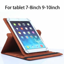 Flip PU Leather Case For Asus Dell iPad Mi Pad Samsung LG Tablet 7 8 9 10 inch