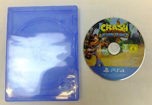 CRASH BANDICOOT N SANE TRILOGY GAME DISC ONLY PLAYSTATION 4 PS4 - VGC
