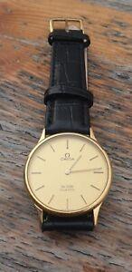 Vintage Slim Omega De Ville Gents Mens Watch