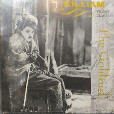 The Gold Rush Charlie Chaplin (silent film/comedy) Killiam Sealed Laserdisc
