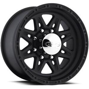 "Raceline 892 Renegade 8 16x10 8x6.5"" -25mm Black Wheel Rim 16"" Inch"