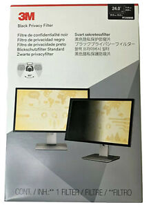 """3M Privacy Filter for 24"""" Widescreen Monitor (16:9) PF240W9B"""