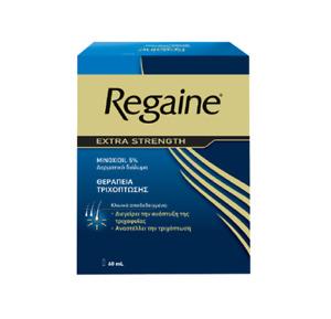 Regaine 5% (minoxidil) solution 60 ml.