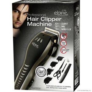 Elpine Professional Hair Clipper Machine and Accessories Set 8 in 1
