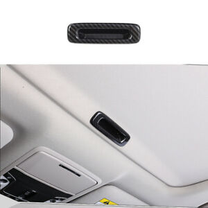 Carbon fiber color Skylight switch handle Cover Trim Fit For Honda 2008-2021