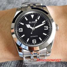 Dress BLIGER Steel Watch MIYOTA 8215 Men Jubilee Bracelet Sapphire Crystal