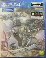 Monster Hunter World Asia Chinese/English/Japanese etc subtitle PS4 NEW