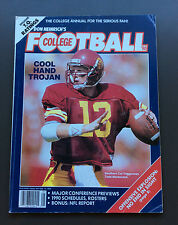 NCAA DON HEINRICH'S COLLEGE FOOTBALL Annual 1990 Todd Marinovich Cover