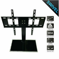 "Universal Table Top TV Stand Base Bracket Mount for 37-55"" inch Flat-Screen US"