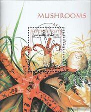 Afghanistan block107 (complete issue) used 1999 Mushrooms
