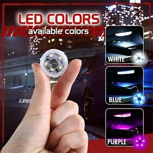 One-Button Portable Self-Adhesive Home Car LED Touch-Sensor Light LAMP