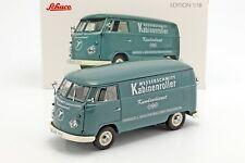 VOLKSWAGEN VW T1B TRANSPORTER 1954 MESSERSCHMITT L.E.1/1000 - 1/18 - SCHUCO