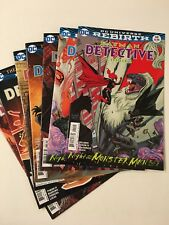 Detective Comics #941, 942, 943, 944, 945, 946, 947 set Batman Rebirth DC Comics