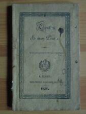 LOIR et CHER - BLOIS - contes à mon Père. Blois, 1826 rare brochure