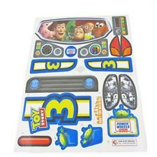 Power Wheels V3298 Toy Story 3 Tot Rod Decal Label Sheet Genuine Fisher Price