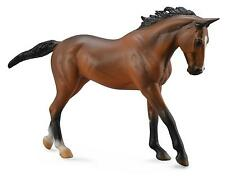 DELUXE 1:12 SCALE THOROUGHBRED BAY MARE HORSE MODEL by COLLECTA 88634*NEW + TAG*