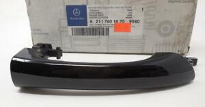 New OEM MERCEDES W203 Black Right Rear Outside Door Handle 2117601870 SHIP TODAY