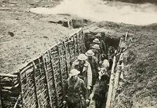 British Army War Dog Training School Trench World War 1 7x5 Inch Reprint Photo
