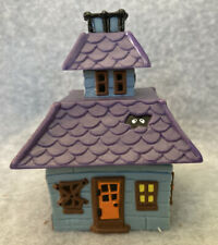 Hallmark Merry Miniatures 👻 🎃 Haunted House Mini Container 1985 Trinket Box