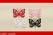 10PC - LACE BUTTERFLY Paper DIE cuts  - NOT a DIE
