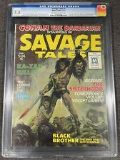 Savage Tales #1 Magazine 1st app Man-thing Marvel Comics 1971 CGC 7.5