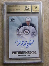 11-12 SPA SP Authentic Rookie FW Future Watch Graded BGS 9.5 MARK SCHEIFELE /999