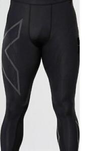 2XU MCS Run Comperession Tights Black/Gold MA4411b