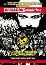 "Queensryche ""Geoff Tate'S Operation: Mindcrime 2018 London Concert Tour Poster"