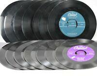 FRANK SINATRA 45 rpm Vinyl Lot of 14 Vintage CAPITOL Records