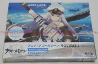 Azur Lane Vol.1 Limited Edition Blu-ray Soundtrack CD Booklet Serial Code Japan