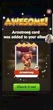 Coin Master Armstrong Card
