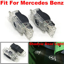 2X LED Logo door courtesy projector light For Mercedes Benz W203 C-Class SLK CLK