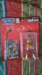 NBA 1998 STARTING LINEUP KOBE BRYANT LOS ANGELES LAKERS KENNER