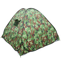 Family Instant Automatic Camping Hiking 3-4 Person Tent Camo Waterproof