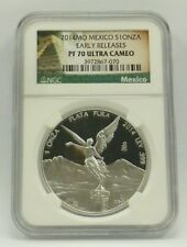 2014MO Mexico S10NZA Early Releases PF 70 Ultra Cameo NGC SKU# 3972867-070