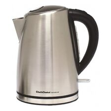 Cordless Electric Kettle Stainless Steel Tea Coffee Hot Water Boiler Pot 120V