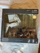 Star Wars Black Series Battle of Endor AT-ST and 8 figures MIB Rare Set