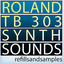 Roland Tb 303 Synth Samples Bass Reason NNXT Refill Wav Soundfont Exs 24 Akai CD