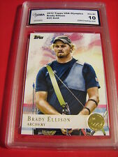 BRADY ELLISON ARCHERY 2012 TOPPS US OLYMPICS GOLD # 28 GRADED 10 L@@K