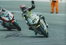 Jonathan REA SIGNED Superbike Castrol HONDA Autograph 12x8 Photo AFTAL COA