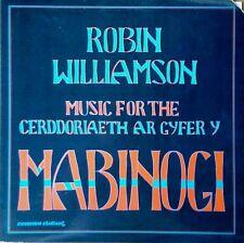 ROBIN WILLIAMSON - MABINOGI - FLYING FISH LABEL - 1984 LP