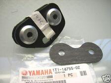 2 pièces neuf yamaha xt 500 1t1-14791-01 échappement support + protection contre la chaleur/Joint